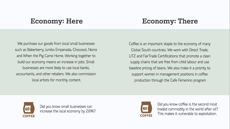 The Coffee Economy