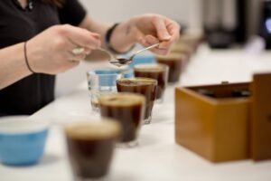 Robotic Coffee Machines